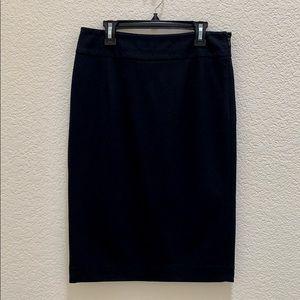 INC Classic Black Pencil Skirt